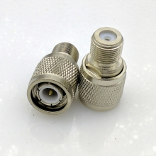 TNC to F type Connector adapter TNC Male to F Female metric system Connector 10pcs/lot(China)