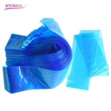 100PCS Disposable Sanitary Tattoo Thread Blue Tattoo Plastic Bag Tattoo Makeup Accesories Machine Dropshipping ma30(China)