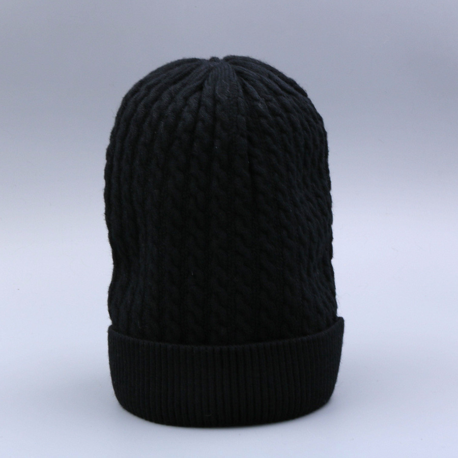 Women's Winter Hat Knitted Wool beanies Skullies Female Causal Mask Ski Thicker Warm Pompon Hats For Women  (4)