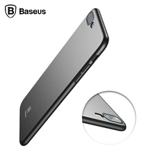 Buy Cover iPhone 8 Case Hard PC BASEUS Simple Meteorite Back Cover Plain Color Case Cover Coque iPhone 8 Plus Case Luxury for $4.49 in AliExpress store