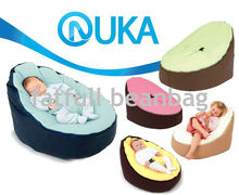 COVER ONLY, NO FILLINGS - Comfortable Soft Baby Bean Bag Harness 2 tops Baby Bean Bag Cover No Stuffings