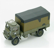 HM1: 72 HG4803 British World War II Bedford trucks model US 10th Infantry Regiment Favorites Model