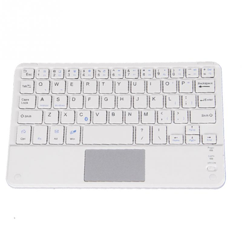 High Quality Wireless Bluetooth Keyboard Touchpad For All 7-10 inch Android Windows Tablets Drop Shipping #0703 12