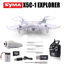 Original Syma X5C X5HC Drone with Camera HD 6 Axis Gyro 4CH 2.4GHz Quadcopter 3D Flip USB Charging Dron Toys for Children RTF(China)