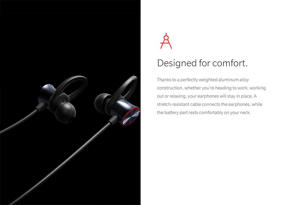 Original Oneplus Bullets Wireless Earphones aptX Neckband For Oneplus 6 Music Freedom Charging Stress Bluetooth Earbuds Earphone (15)