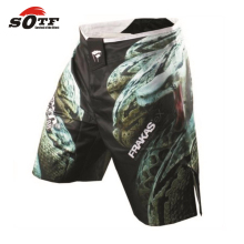 SOTF Free shopping 2015 new MMA Muay Thai boxing fighting shorts muay thai shorts pantalones mma boxing trunks high quality