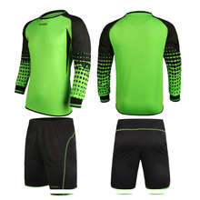 High Quality Soccer Jersey Men Football Goalkeeper Soccer Uniforms Sets Training Suits Doorkeepers Clothes Long Sleeve