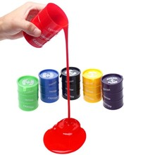 Barrel Slime Fun Shocker Joke Gag Prank Gift Toy Crazy Trick Party Supply Paint Bucket Random Color