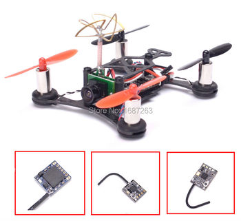 QX95 95mm Micro Quadcopter Frame Kit + 8520 Motor + F3 EVO V2.0 brushed board + 1000TVL camera + Mini Flysky Frsky DSM2 receiver