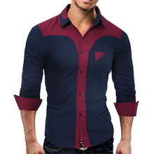 Buy 2017 New Fashion Casual Men Shirt Long Sleeve Business Slim Fit Shirt Men High Mens Dress Shirts Men Clothes 3XL for $10.88 in AliExpress store