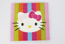 Wholesale Kid Boy Girl Hello Kitty Birthday Party Decoration Kids Supplies Favors Napkins 20pcs/lot Event Party Supplies