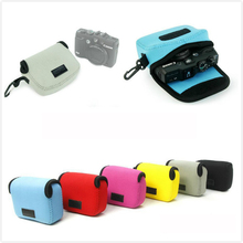 Good Quality Mini Travel Camera Bag Case for Sony HX60 HX50 Canon G Lightweight Neoprene Cameras Cover Protective Pouch