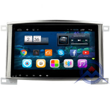 10.2 inch QuadCore Android Car DVD For Land cruiser 100 LC100 Lexus IX470 Radio GPS Navi BT SWC land cruiser 100 WIFI free map