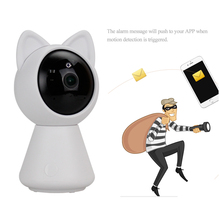 Mini 1080p HD ip Wifi Camera CCTV wi-fi security wireless 360 home camera Night Vision support two-way audio use yoosee software(China)