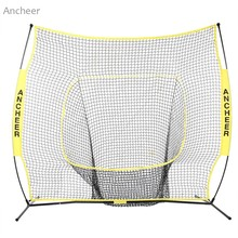 Durable 7 x 7ft Softball Baseball Practice Net with Bow Frame Compact Carrying Bag Softball Training Net Outdoor Training(China)