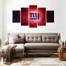 NFL New York Giants Logo Washington Redskins Wall Art Canvas Paintings Oil Painting Canvas American Football Team Wholesale
