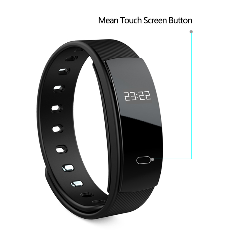 DOITOP QS80 Smart BT Bracelet Blood Pressure Heart Rate Monitor IP67 Smartband Fitness Tracker Wristband For IOS Android