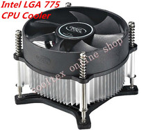 CPU cooler radiator cooling heatsink for Intel LGA 775 fans cooling(China)