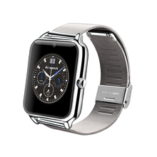 Luxury Slim Men Watch Z50 Bluetooth Smart Watch Fitness Tracker Sync Call /SMS / Facebook Compatible with IOS Android Phone(Hong Kong)