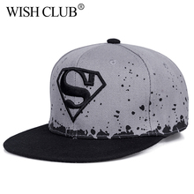 Superman Kids Hats Snapback Caps For Boy Girl Baseball Cap Baby Hip Hop Hat Parent-child Cap For Adult And Child Sun Hat Casual(China)