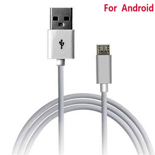 Micro USB Cable V8 5P Phone Charging Cable 100CM 2.0 Data  Charger Cable For Samsung Galaxy  S2~S6 Note 1  2  Android Cell Phone