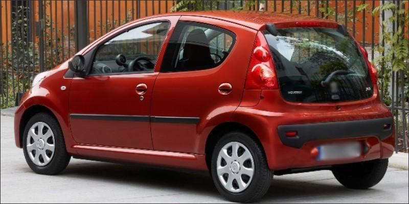 PEUGEOT 107 2005~2013-car
