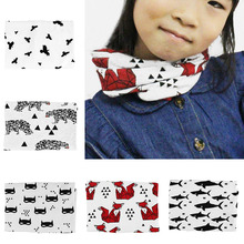 Toddler Boys Girls Winter Warm Collar Fashion Scarf Baby Crochet Knit O Ring Neck Scarf(China)