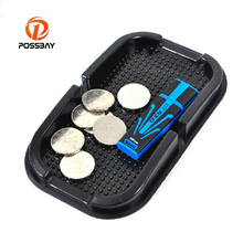 POSSBAY Accessories Anti Slip Mats Fit For Volkswagen VW Honda Toyota Benz Audi Opel Kia Skoda 1 Pcs Car Sticky Pad