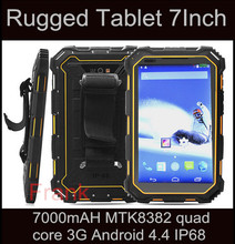 Original IP68 Waterproof LR V9 wcdm Tablet PC 7000mAH MTK8382 quad core 3G 7.0 inch Android 4.4 rugged waterproof tablet T70 T80