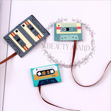 1PCS 3 different styles of retro magnetic bookmarks tape bookmarks office learning stationery