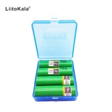 4PCS Original Liitokala for Samsung 18650 2500mah battery INR18650 25R 20A discharge lithium batteries