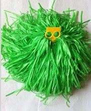 100g Plastic PE Cheerleader Pompoms (10pcs/lot) Cheerleading Lalla Ball Pom Poms Cheerleaders Props Pompom Drop Shipping New