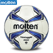 original Molten F5V3200 Men's Soccer Size 5 Professional Training Series PU Official Molten Brand Sports Soccer football ball