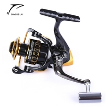 DIAO DE LAI 12 + 1 Ball Bearings Coil Wheel Tackles Metal Spool Spinning Fishing Reel High Speed Spool Spinning Fishing Reels