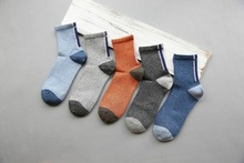 5pairs winter men socks Pure Cotton sport In Tube Socks SCOKS Embroidered Men's runing sock Casual Business Socks Medias de los