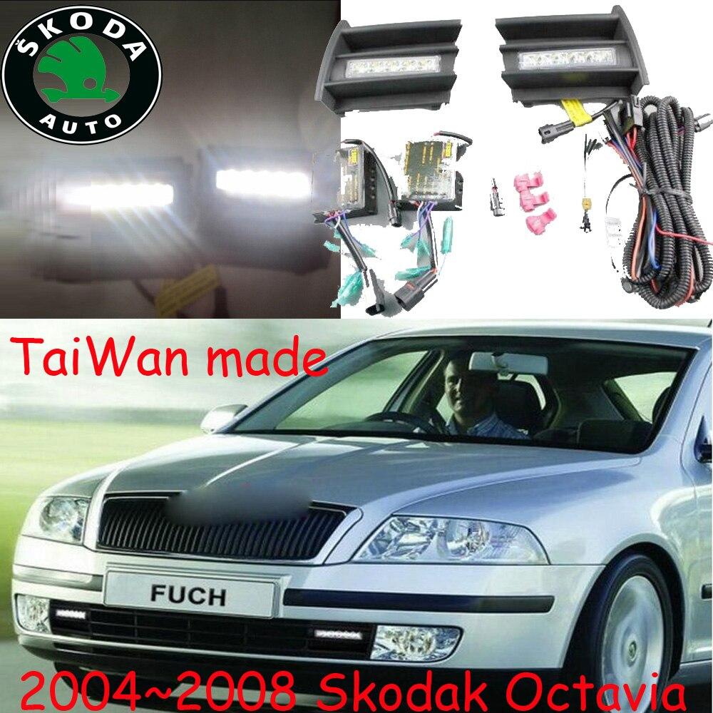Skod Octavia daytime light;2004~2008 Free ship!LED,Octavia fog light,yeti,fabia;Superb;Octavia<br>