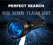 HID Xenon Tactical Flashlight High Powerful Waterproof USB Rechargeable LED Flashlight Flash Lamp Light Camping Torch Lighting(China)