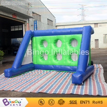 Free Delivery Hot sales Inflatable Shooting Football Game for children