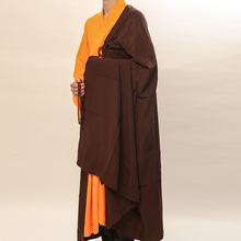 famous brand UNISEX buddhist clothing meditation uniforms abbot martial arts Monk robes lay five precepts garment 2pcs/set(China)