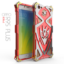 Zimon Armor Heavy Dust Metal Aluminum protect phone shell cover for oppo r9s r9splus plus cell phone case