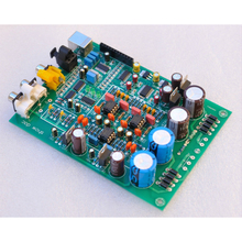 24bit 192K CS8416+WM8741+OPA2134PA+Xmos USB DAC completed USB preamplifier Board Coaxial, optical fiber