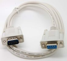 Serial RS232 Null Modem Cable male to Female DB9 5ft 1.5m dirct connection(China)