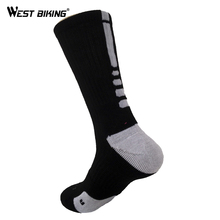 WEST BIKING New Style Bike Sock Outdoor Breathable Cycling Sock Badminton Football Basketball Walking Running Tennis Sports Sock