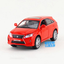 1:32 Sclae/Diecast Model/Lexus RX450h SUV Sport Toy/Sound & Light/Children's gift/Educational Collection/Pull back Car(China)