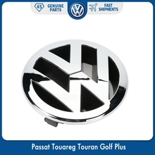 130 мм передний радиатор эмблема гриля логотип для VW Volkswagen Passat 06-11 Touareg 07-10 Touran Golf Plus 2005-2009 5M0 853 601 FDY(China)