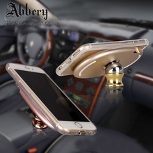 Abbery Universal Magnetic Car Phone Wireless QI Charger Holder 360 Degree Rotating Table Charging For iPhone 6S No Sale to USA