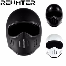 Motorcycle Full Face Helmet Bright Black/White/Mattle Black With the Original Box For Harley Helmet Small Motorcycle Helmet(China)