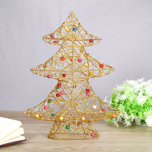 3 Layer Christmas tree Christmas decorations Holiday gift work desktop furnishing articles