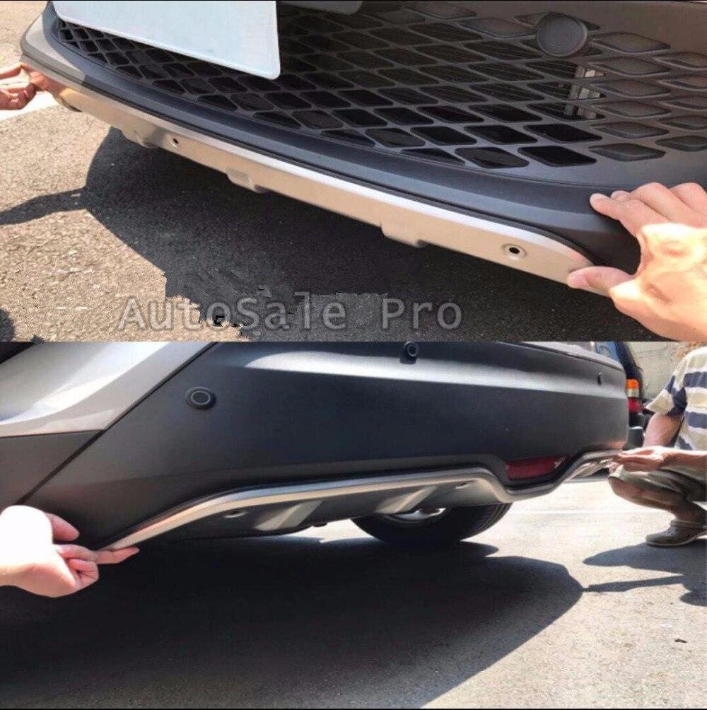 HONDA CR-V III Facelift 2010-2012 Rear Bumper Protector Sill Guard Steel