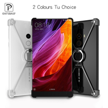 X Shape Case for Xiaomi Mi Mix case Personality Shell for Xiaomi Mi Mix 6.4 Metal Border Metal Bumper Ring Holder cases